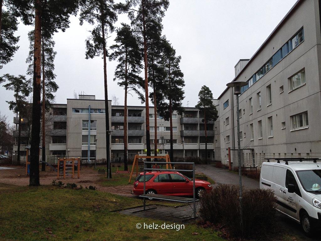 Heka-Häuser in Kivikko