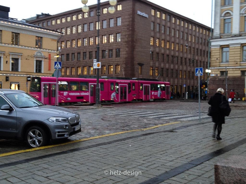 pink Tram