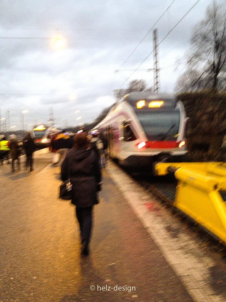 Zug nach Malmi