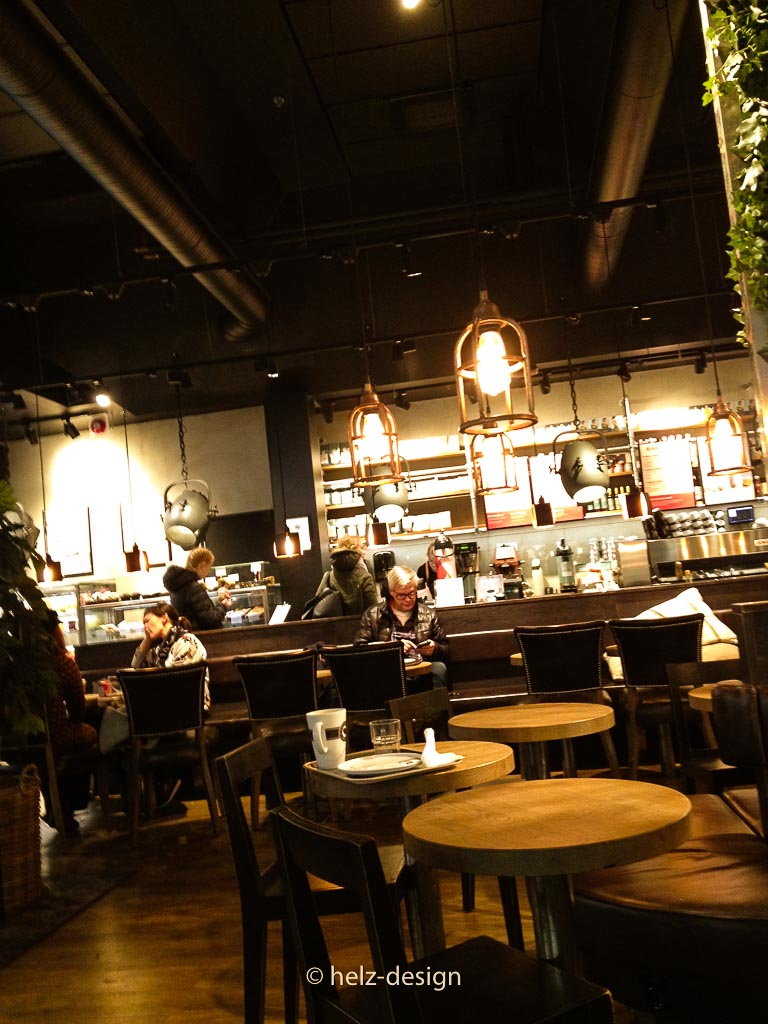 Lampe im Espresso House